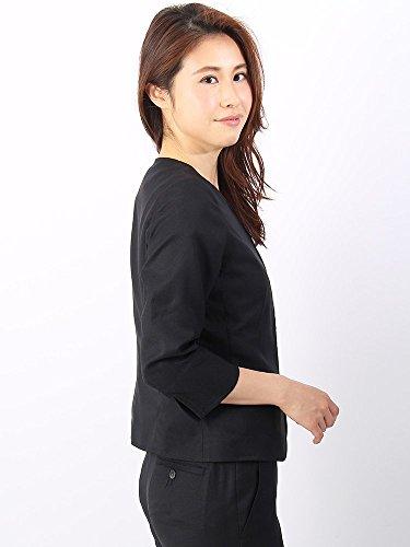 (ザ・スーツカンパニー)ウォッシャブル/Littlechic/JAPANQUALITY/ノーカラージャケットネイビー38