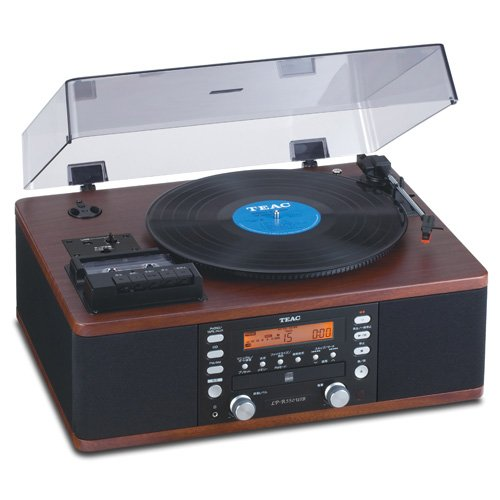 Teac LPR550 USB Recorder Cassette Turntable