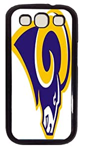 St. Louis Rams Back Protection Case for Samsung Galaxy S3 I9300 - Samsung Galaxy S3 I9300 case pc black