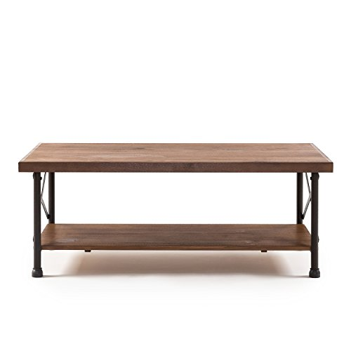 Zinus Rafat Industrial Style Coffee Table Lavorist