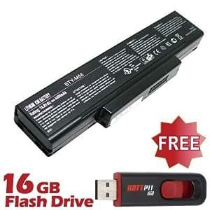 Battpit Bateria de repuesto para portátiles LG SQU-424 (4400 mah) Con memoria USB de 16GB GRATUITA