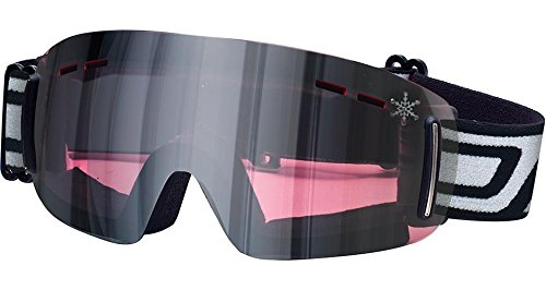Dirty Dog FLIP Ladies Frameless Ski/Snow Goggles Rose Flash MIRROR - Goggles Ski Uk