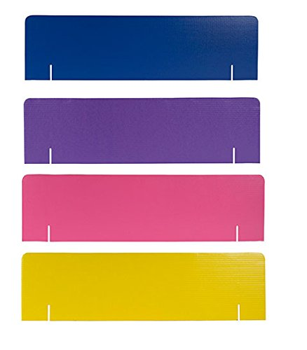 "36"" x 10"" Assorted Project Board Header Pack - 16 Headers..."