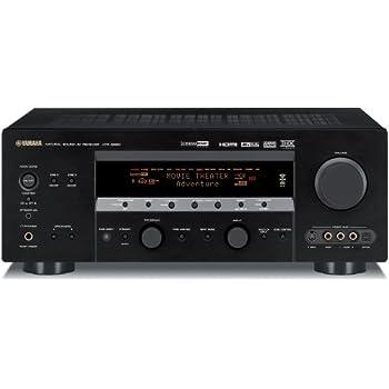 amazon com yamaha htr 5990 xm ready 7 1 channel a v surround rh amazon com Yamaha Receiver HTR-5990 RX-V2500 Yamaha Center Channel Not Working