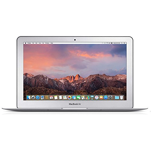 Apple MacBook Air 11.6-Inch MJVM2LL/A Core i5 1.6GHz , 8GB Memory, 256GB Solid State Drive, MacOS 10.12 Sierra (Certified Refurbished)