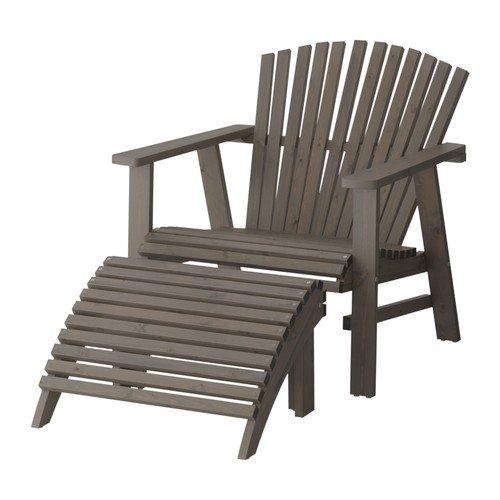 Sedie Sdraio Da Giardino Ikea.Ikea Sundero Lettino Grigio Amazon It Giardino E Giardinaggio