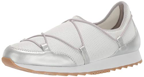 Aerosoles Women's Flashy Shoe, Silver Combo, 9 M US