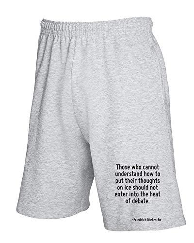 Understand Cannot Pantaloncini Who Grigio shirtshock Cit0233 T Those Tuta SgPq68