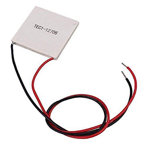 Diymore 10Pcs TEC1-12706 40x40MM 12V 60W Heatsink Thermoelectric Cooler Cooling Peltier Plate Module by diymore (Image #2)