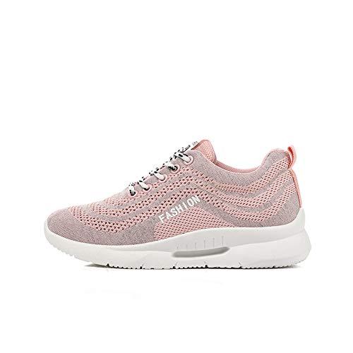 Con Rosa Correr 34 Eu Zapatillas 40 Mujer Zapatos Deportes Running Ligero Para De Y Estilo Deportivos 2 0Zwv0f