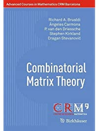 Amazon linear algebra books combinatorial matrix theory advanced courses in mathematics crm barcelona fandeluxe Images