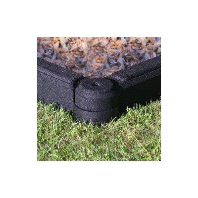 FlexiStack 4 Foot Rubber Border - Black