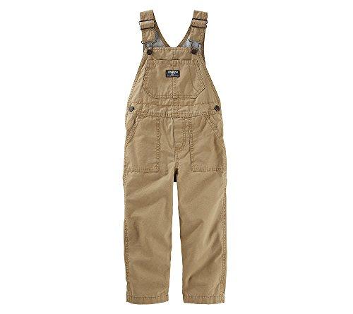 (OshKosh B'Gosh Baby Boys' Denim Overalls Brown 9 Months)