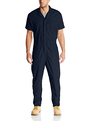 Red Kap Men's Speedsuit, Navy, Small -