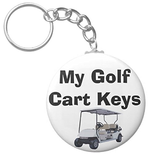 A&T Designs My Golf Cart Keys 2.25