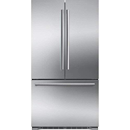 800 Series Refrigerator - Bosch B21CT80SNS 800 Series 36 Inch Counter Depth French Door Refrigerator in Stainless Steel