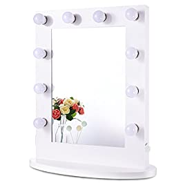 Chende Hollywood Makeup Vanity Mirror with Light T...