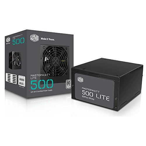MasterWatt Lite 500W 80 Plus Power Supply