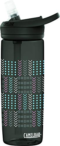CamelBak eddy+ BPA Free Water Bottle, 20 oz, Quilt Geo