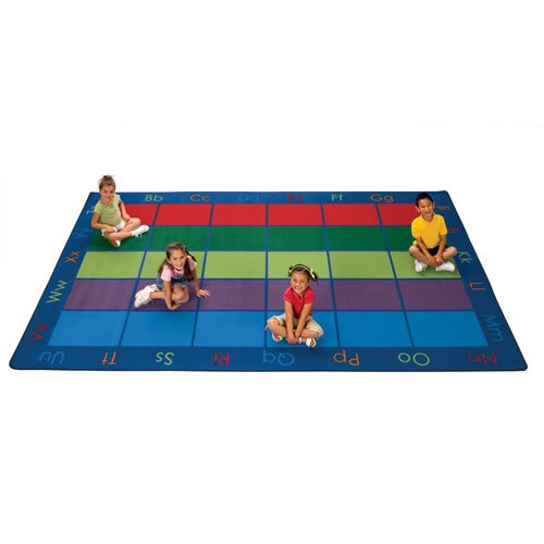 Carpets for Kids 8634 Colorful Seating Places Kids Rug Rug Size: 8'4