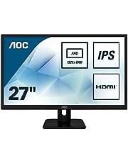 "Save on AOC 27E1H 27"" Widescreen IPS LED Black Monitor"