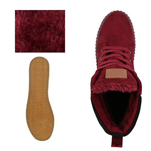 diansen® running Flyknit Boost inspirado entrenador Fitness gimnasio deportes zapatos (tamaño 6–�?1) Dunkelrot Rot Rosso