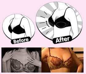 2 Colors Adjustable Inflatable Air Bra Pads Breast Enhancers Push Up Breast Pads
