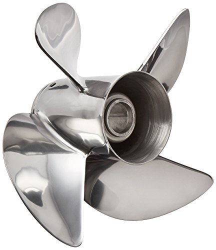 Turning Point Propeller 31431930 Stainless Steel Express 4 Blade Propeller with 4-1/4