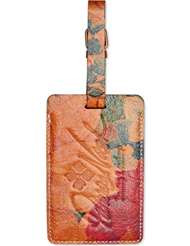 UPC 887986030135, Patricia Nash Bagagli Luggage Tag Leather Multicolored Heritage