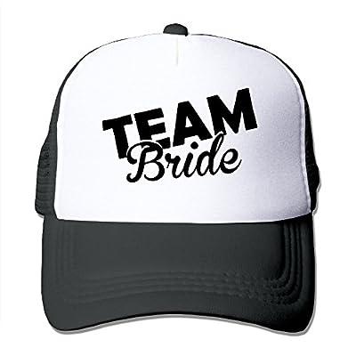 Fashiontyful Adult Team Bride Groom Trucker Hats,Unisex Mesh Caps,Snapback Baseball Cap Hat
