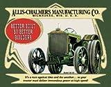 Allis Chalmers Farm Tractor tin sign #1134