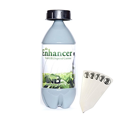 TnB Naturals The Enhancer Co2 Dispersal Canister - 240g + Stakes (Plant Co2 Natural)