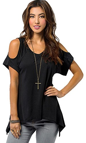 Pxmoda Womens Casual Shoulder T Shirt product image