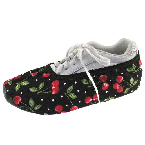 (Master Industries Women's Bowling Shoe Cover, Cherries, Large)