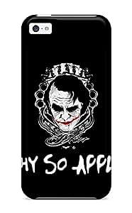 New Premium PsYujrS26690IzocD Case Cover For Iphone 5c/ Funny Joker Protective Case Cover