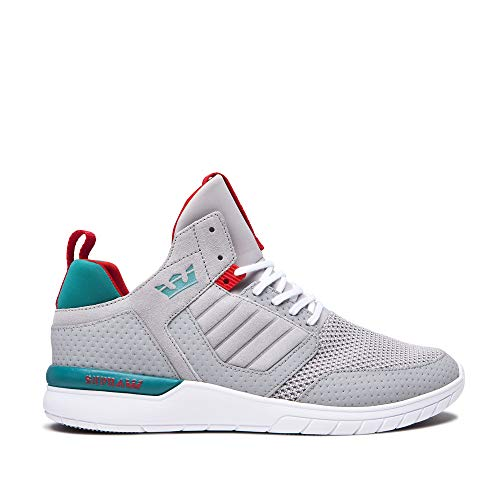 Shoe Grey white Method Teal Supra Light Skate EZnCq