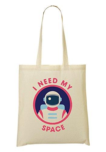LukeTee Astronaut I Need My Space Bolso De Mano Bolsa De La Compra