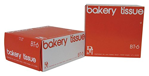 Durable Packaging Bakery Tissue Sheets, 6' x 10-3/4' (Pack of 10,000)