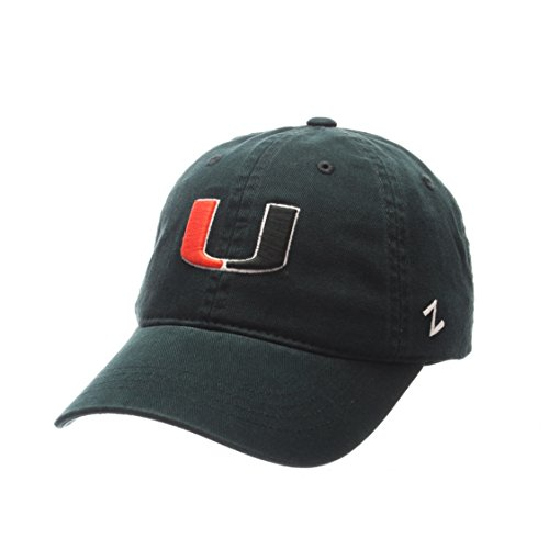 (ZHATS Miami Hurricanes Scholarship Relaxed Fit Dad Cap - NCAA One Size Adjustable Baseball Hat)