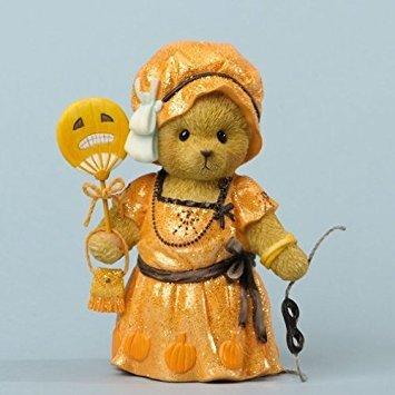 Cherished Teddies Looking Frightfully Fabulous Bear Halloween Figurine