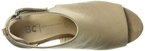 Sandal Women's Theme Footwear Wedge Park Taupe BC 0Ox7qwRSp
