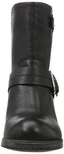 Bullboxer 539657e6l - Botas estilo motero Mujer Schwarz (Black)