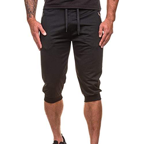 Pantalons Hommes Survêtement Pour De Décontractés Joggers Loisirs Tous Jogging Danse Shorts Fête Schwarz Vêtements wPvEIqP