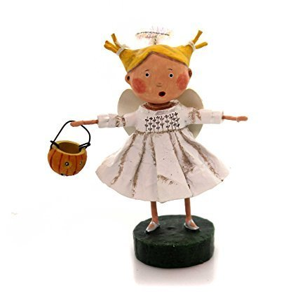 Lori Mitchell ANGEL GIRL Polyresin Wings Halo 11050