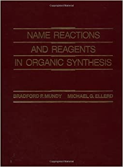 Name Reactions And Reagents In Organic Synthesis Book Pdf
