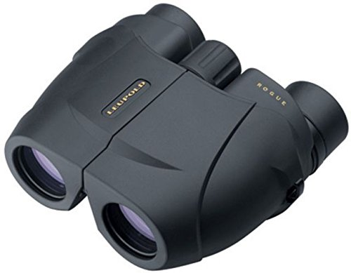 Leupold BX-1 Rogue 10x25mm Compact Binoculars, Porro Prism, Black by Leupold