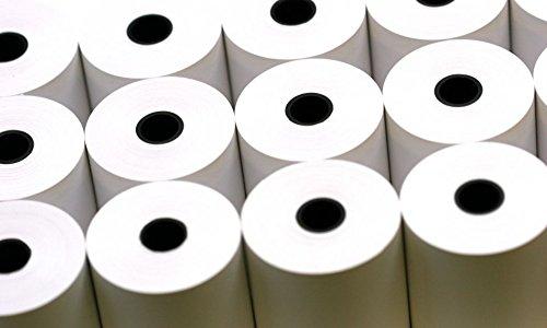 Retail Gurus 57x50 mm Thermal POS Till Cash Paper Rolls, Box of 20.