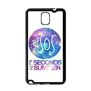 AMAF ? Accessories Custom Design 5 Seconds of Summer 5sos Durable Protection Hard Cover Case For Samsung Galaxy Note 3 III TPU [ 5 sos ]