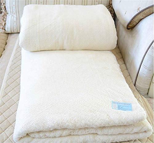 L&B-MR Bâton en Coton d'hiver Dortoir Étudiant De 6 Kg en Coton Couette en Coton Fait Main en Coton,200 * 230cm