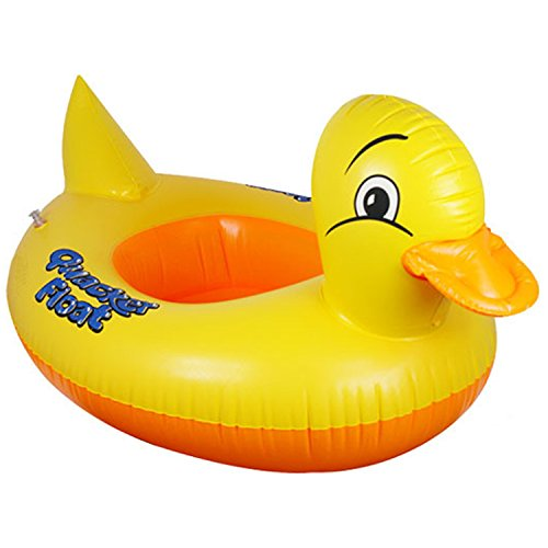 Swim Little Duck (UGGL Duck Baby Floats, Inflatable Duck Pool Float, Baby Floating Seat, Children Swim Ring, Kids Inflatable Floats, Yellow Duck Seat Boat for 1-3 Years Kids)